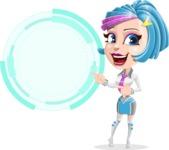 Urania the Energetic Future Girl - Sign 7