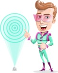 Man from the Future Cartoon Vector Character AKA Brice - Target