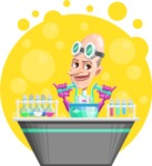 Professor Mad Egg-Head  - Shape 6