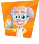 Professor Earl Crazy-Curls  - Shape 4