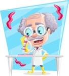 Professor Earl Crazy-Curls  - Shape 9