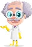 Professor Cartoon Character АКА Earl Crazy-Curls - Feeling Sorry