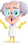Professor Earl Crazy-Curls  - Shocked