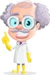Professor Earl Crazy-Curls  - Attention