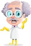 Professor Earl Crazy-Curls  - Confused