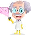 Professor Earl Crazy-Curls  - Mail