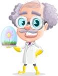 Professor Earl Crazy-Curls  - Plant
