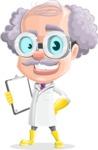 Professor Earl Crazy-Curls  - Notepad 2
