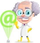 Professor Earl Crazy-Curls  - Web