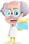 Professor Earl Crazy-Curls  - Sign 1