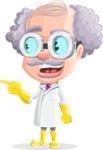 Professor Earl Crazy-Curls  - Point 1