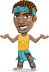 Street Gangster Cartoon Vector Character AKA Jay A - Showcase 2