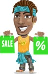 Street Gangster Cartoon Vector Character AKA Jay A - Sale 1
