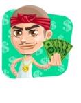 Chino Troublelino Gangster Man - Shape 3