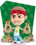 Chino Troublelino Gangster Man - Shape 5