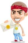 Chino Troublelino Gangster Man - Letter