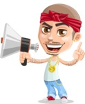 Chino Troublelino Gangster Man - Loudspeaker