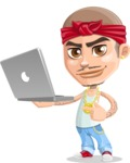 Chino Troublelino Gangster Man - Laptop 1