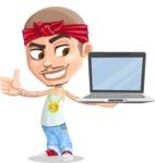Chino Troublelino Gangster Man - Laptop 3