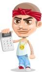 Chino Troublelino Gangster Man - Calculator