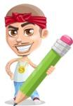 Chino Troublelino Gangster Man - Pencil