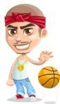 Chino Troublelino Gangster Man - Basketball