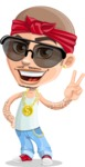 Chino Troublelino Gangster Man - Sunglasses 1