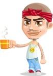 Chino Troublelino Gangster Man - Coffee