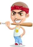 Chino Troublelino Gangster Man - Bat 1