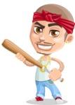 Chino Troublelino Gangster Man - Bat 2