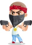 Chino Troublelino Gangster Man - Pistols