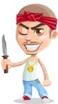 Chino Troublelino Gangster Man - Knife 2