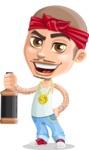 Chino Troublelino Gangster Man - Drink