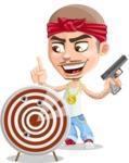 Chino Troublelino Gangster Man - Target