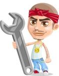 Chino Troublelino Gangster Man - Repair
