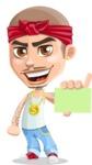Chino Troublelino Gangster Man - Sign 1