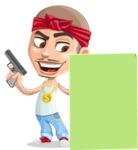 Chino Troublelino Gangster Man - Sign 6