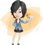 Zara as Miss Mini Skirt - Shape 8