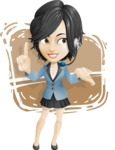 Zara as Miss Mini Skirt - Shape 12