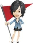 Zara as Miss Mini Skirt - Checkpoint