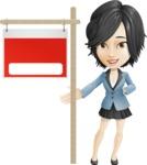 Zara as Miss Mini Skirt - Sign 9