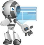 Housekeeping Robot Cartoon Vector Character AKA Glossy - Multimedia