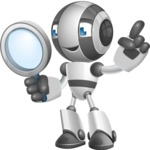 Housekeeping Robot Cartoon Vector Character AKA Glossy - Search