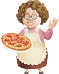 Granny Five-Course Meal - Pizza 1