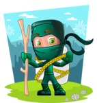 Takumi the Artistic Ninja - Shape 6