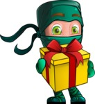 Takumi the Artistic Ninja - Gift