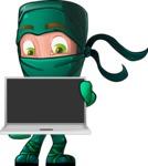 Takumi the Artistic Ninja - Laptop 2