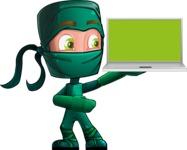 Takumi the Artistic Ninja - Laptop 3