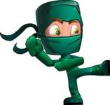 Takumi the Artistic Ninja - Kick 2
