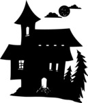 Witch House Silhouette
